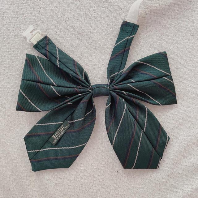 EASTBOY(イーストボーイ)の【ちま様専用】スクールリボン 制服 緑 レディースのアクセサリー(その他)の商品写真