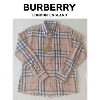 バーバリー(BURBERRY)の[極美品] BURBERRY バーバリー 長袖シャツ ホース XL ノバチェック(シャツ)