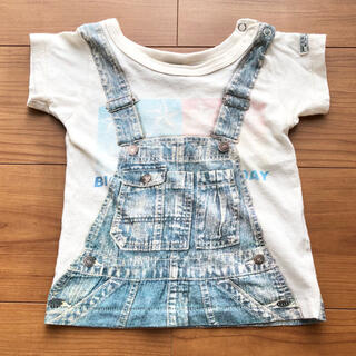 F.O.KIDS - Tシャツ 80 夏用 メンズ 男の子 保育園 キッズシャツ シンプル オシャレ