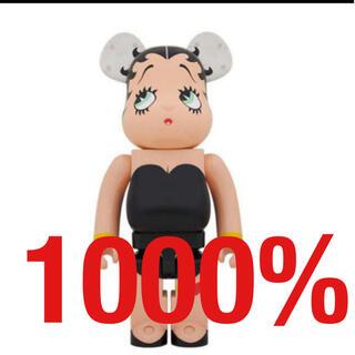 メディコムトイ(MEDICOM TOY)のBE@RBRICK Betty Boop 1000% ブラック(その他)