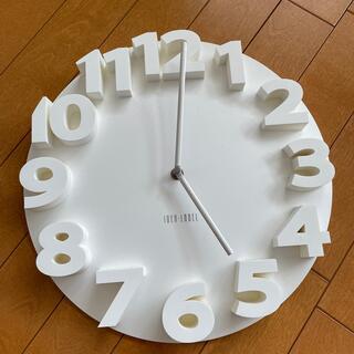 イデアインターナショナル(I.D.E.A international)のIDEA LABEL 掛け時計(掛時計/柱時計)