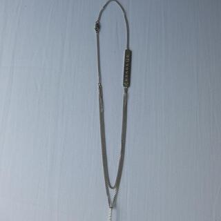 マルタンマルジェラ(Maison Martin Margiela)のmaison margiela メンズ レイヤード ネックレス(ネックレス)