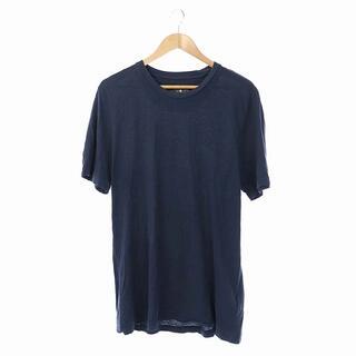 ハイドロゲン(HYDROGEN)のハイドロゲン Tシャツ カットソー 半袖 プルオーバー XL 紺 ネイビー(Tシャツ/カットソー(半袖/袖なし))