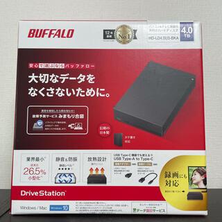 Buffalo - 新品未開封 バッファロー HD-LD4.0U3-BKA外付けハードディスク
