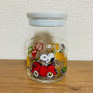 スヌーピー(SNOOPY)のビンテージ スヌーピー キャニスター 瓶 レトロ(その他)