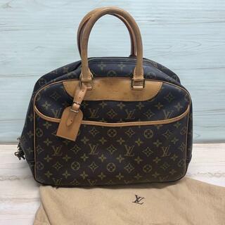 ルイヴィトン(LOUIS VUITTON)のヴィトン ドーヴィル モノグラム ハンドバッグ 保存袋付(ハンドバッグ)