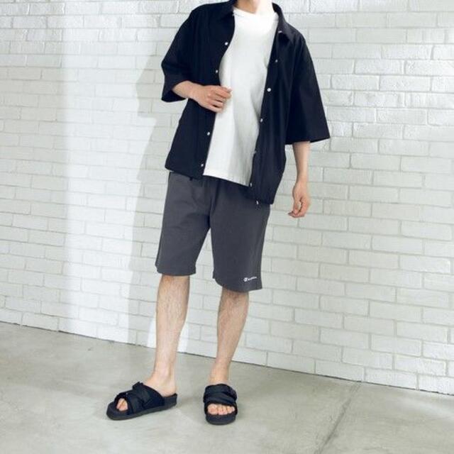 Champion(チャンピオン)の新品 Champion ロゴ スウェット イージー ハーフ パンツ M メンズのパンツ(ショートパンツ)の商品写真