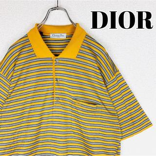 クリスチャンディオール(Christian Dior)の【Christian Dior】ポロシャツ 胸ポケット◎ 胸刺繍◎ワンポイント◎(Tシャツ/カットソー(半袖/袖なし))