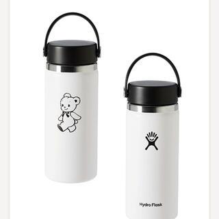 ファミリア(familiar)の新品 ハイドロフラスク ホワイト タンプラー(水筒)