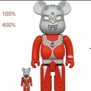 メディコムトイ(MEDICOM TOY)のBE@RBRICK ベアブリックウルトラマンタロウ 100% & 400%(キャラクターグッズ)