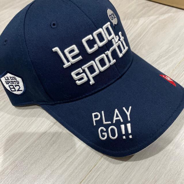 le coq sportif(ルコックスポルティフ)のルコックゴルフ キャップ レディース スポーツ/アウトドアのゴルフ(ウエア)の商品写真