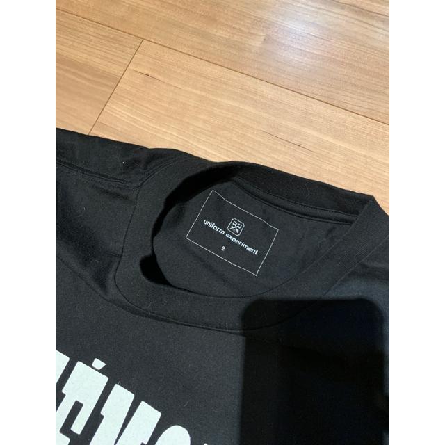 uniform experiment(ユニフォームエクスペリメント)のUniform Experiment Tシャツ Fragment  sequel メンズのトップス(Tシャツ/カットソー(半袖/袖なし))の商品写真