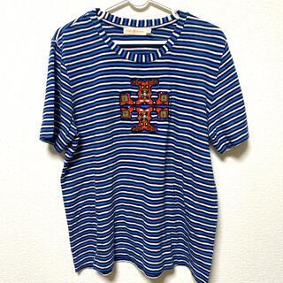トリーバーチ(Tory Burch)のToryBurch デザインTシャツ(Tシャツ(半袖/袖なし))