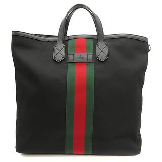 グッチ(Gucci)のグッチ  2WAYバッグ  シェリーライン ウェビング バックパック 3(トートバッグ)