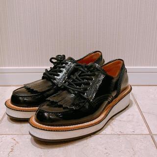 ジバンシィ(GIVENCHY)のジバンシィGIVENCHY  レザーダービーシューズ オックスフォード 厚底(ローファー/革靴)