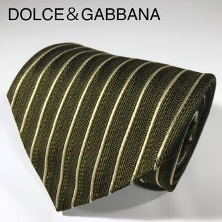 ドルチェアンドガッバーナ(DOLCE&GABBANA)のドルチェ&ガッパーナ イタリア製 高級シルク ネクタイ バーチカルストライプ(ネクタイ)