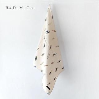 ヤエカ(YAECA)の新品 希少 R&D.M.Co-✨オールドマン グレートマンズ クロス バッグ被せ(バンダナ/スカーフ)