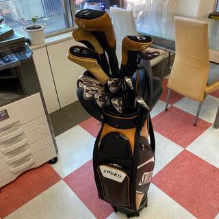 カタナ(KATANA)の大幅値下げSALE セールゴルフフルセットSWORD スピーダーシャフトSale(クラブ)