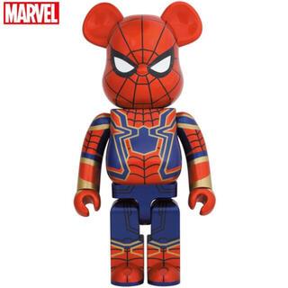 メディコムトイ(MEDICOM TOY)のBE@RBRICK IRON SPIDER 1000% スパイダーマン(アメコミ)