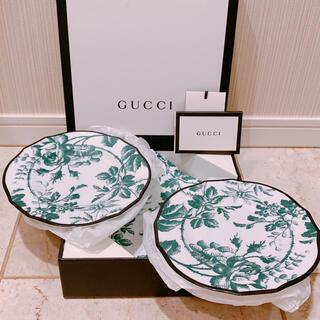グッチ(Gucci)のGUCCI グッチ リチャードジノリ製 ハーバリウム  プレート 皿 2枚(食器)