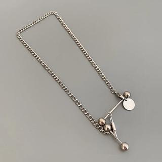 トゥデイフル(TODAYFUL)のChain mix necklace No.410(ネックレス)