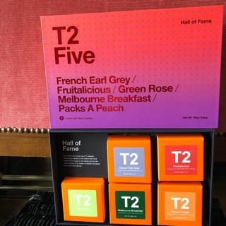 T2tea オーストラリア  紅茶 リーフ フレンチアールグレイ 等5種類セット(茶)