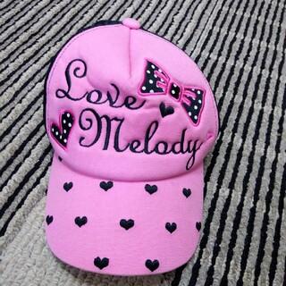 女の子用 キャップ(帽子)
