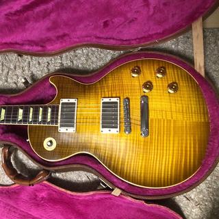 ギブソン(Gibson)の【送料込・美品】Gibson ギブソンレスポール クラシック(vosモデファイ)(エレキギター)