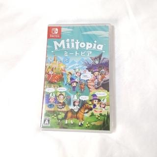 ニンテンドースイッチ(Nintendo Switch)のMiitopia Switch 新品未開封(家庭用ゲームソフト)