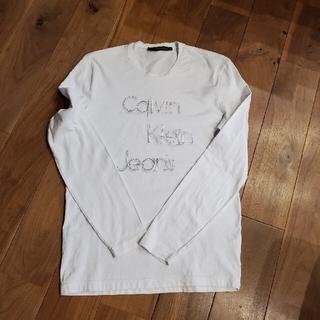 カルバンクライン(Calvin Klein)のCALVIN KLEIN綿100%長袖Tシャツ。Lサイズ(シャツ)