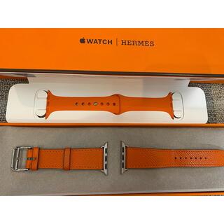 エルメス(Hermes)のうめ様専用 エルメス Apple Watch バンド 40m(レザーベルト)