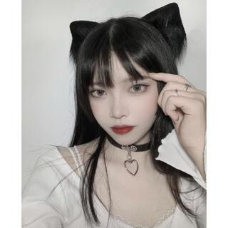 【期間限定割】猫耳 ブラック コスプレ(小道具)