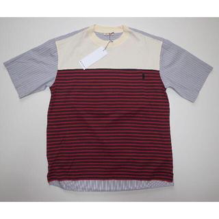 マルニ(Marni)のmarni マルニ ボーダー ストライプ Tシャツ size48(Tシャツ/カットソー(半袖/袖なし))