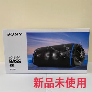 ソニー(SONY)のソニー ワイヤレスポータブルスピーカー 【SRS-XB43】(スピーカー)