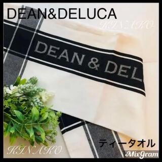 DEAN & DELUCA - ティータオルDEEN&DELUCAキッチンタオル黒ブラック★キッチン雑貨