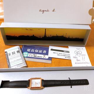 agnes b. - agnes b. アニエスベー30周年 限定モデル FCSK720 腕時計