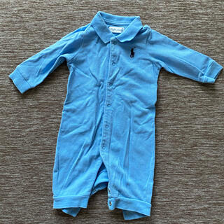 ラルフローレン(Ralph Lauren)のラルフローレン ロンパース カバーオール ポロシャツ 50-60(カバーオール)