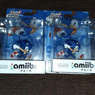 ウィーユー(Wii U)の新品未開封 amiibo ソニック(大乱闘スマッシュブラザーズシリーズ)(その他)