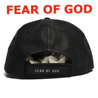 FEAR OF GOD - 激レア  FEAR OF GOD  レザーキャップ