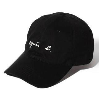 アニエスベー(agnes b.)の【新品未使用】アニエスベー キャップ ブラック 帽子 agnes.b(キャップ)