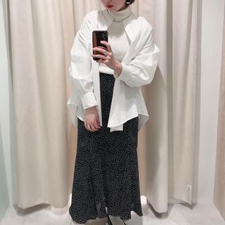 natural couture - ナチュラルクチュール ドットマーメイドスカート
