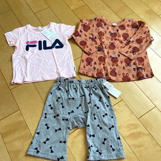 FILA - F ILA  Tシャツとリボン柄パンツ  新品