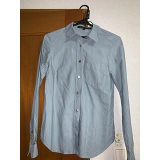 マークジェイコブス(MARC JACOBS)のブルーシャツ(シャツ/ブラウス(長袖/七分))