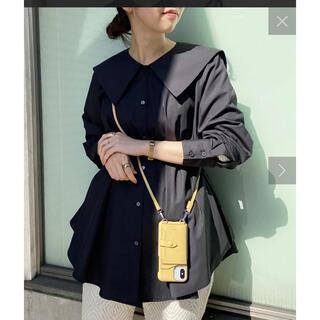 カプリシューレマージュ(CAPRICIEUX LE'MAGE)のBIGカラーシャツ 定価11990円(シャツ/ブラウス(長袖/七分))