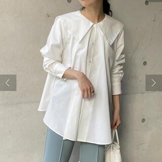カプリシューレマージュ(CAPRICIEUX LE'MAGE)のBIGカラーシャツ定価11990(シャツ/ブラウス(長袖/七分))