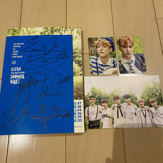 ASTRO サイン付きアルバム Summer Vibes(K-POP/アジア)