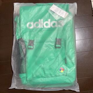 アディダス(adidas)の【8月以降発送可】【新品・未開封】ももクロ × adidas リュック グリーン(アイドルグッズ)