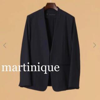 martinique Le Conte - 新品タグ付martiniqueノーカラージャケット テーラードジャケット