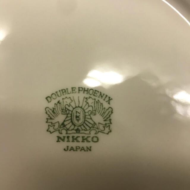 NIKKO(ニッコー)のNIKKO ニッコー ダブルフェニックス カレー皿 パスタ皿 5枚 昭和レトロ インテリア/住まい/日用品のキッチン/食器(食器)の商品写真