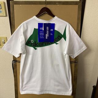 ジュンヤワタナベコムデギャルソン(JUNYA WATANABE COMME des GARCONS)の【新品】ジュンヤワタナベコムデギャルソンマン バックプリントTシャツ Mサイズ(Tシャツ/カットソー(半袖/袖なし))
